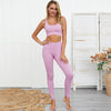 Seamless Yoga Set Women Sportwear Gym Leggings Sports bra set Workout clothes for women Fitness suit Femme Sports Suits