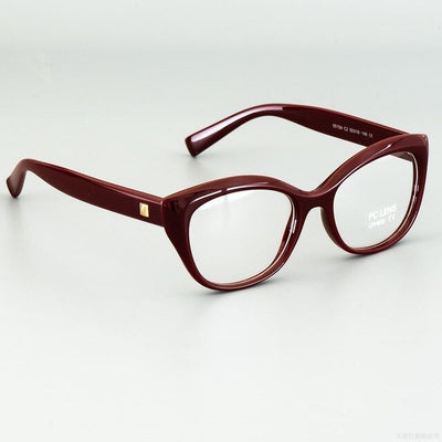 Pixcico 45675 Cat Eye Glasses Frames Men Women Optical Fashion