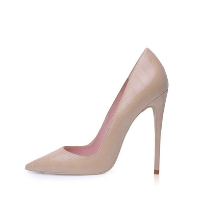 Women Pumps Heeled Shoes Nude Pointed Toe Sexy High Heel Shoes Stiletto High Heels Ladies