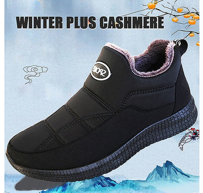 Winter Men Loafers 2020 New Fashion Men Casual Warm Shoes Comfortable Men Fur Flats Driving Footwear Moccasins Men Snow Boots