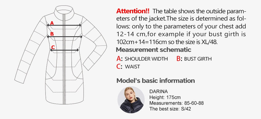 2020 New Women's Winter Cotton Clothing Long Cotton Coat Simple Design Women Jacket Winter Parka Windproof Jacket