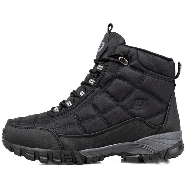 Men Boots 2020 Winter Shoes For Men Warm Snow Boots Mid-calf Men Shoes Thick Plush Winter Boots For -40 degrees Men Cotton Shoes