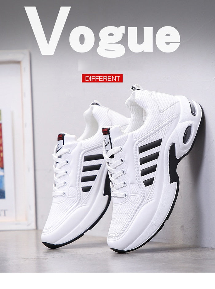 Fashion Breathable Men's Casual Shoes Outdoor Sneakers for Men Comfortable Air Cushion Shoes Male Student Tenis Feminino Zapatos