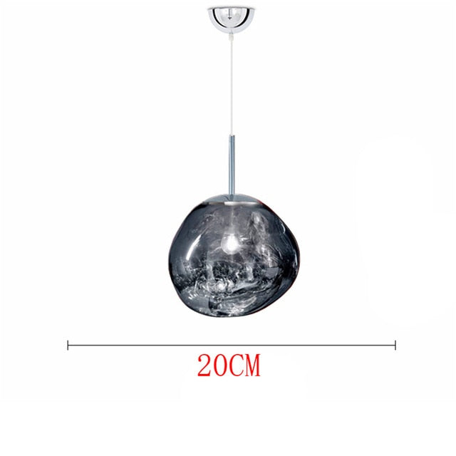 Nordic Glass Design Pendant Lights Lighting Coffee Glass Pendant Lamp Study Kitchen Fixtures Villa Duplex Apartment Hanging Lamp