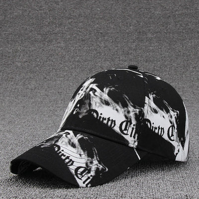 [AETRENDS] Black White Gravity Falls Cotton Baseball Cap Hat Men Women Tennis Cap Sports Caps Snapback Hip Hop Hat Z-6291