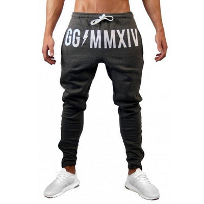 Mens Joggers Casual Pants Fitness Male Sportswear Tracksuit Bottoms Skinny Sweatpants Trousers Gyms Crossfit Jogger Track Pants