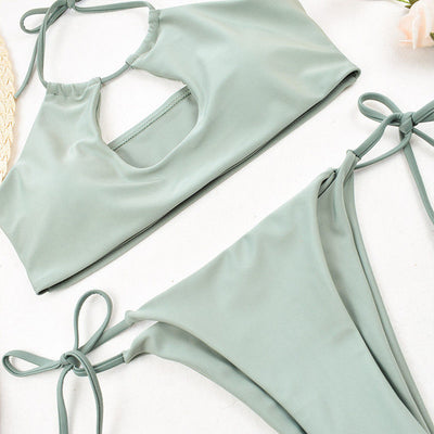 Women Summer Swimwear Bikini Set Push-up Padded Bra Bathing Suit Swimsuit