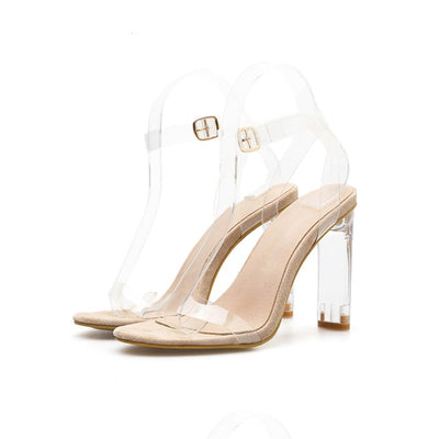 High Heels Sandals Shoes Open Toed Women Sandals Sexy Large Size Women Shoes