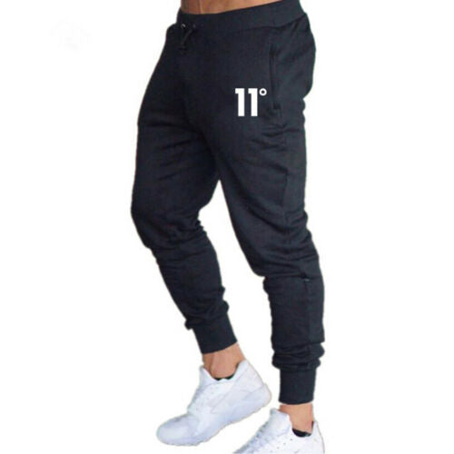 New Fashion Men's Solid High-waist Lace-up Pencil Summer Pants Male Casual Workout Slim Fit Sport Gym Skinny Joggers Pants M-XXL