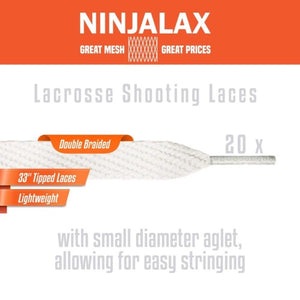 "Shooting Laces - 33"" - 20 Pack"