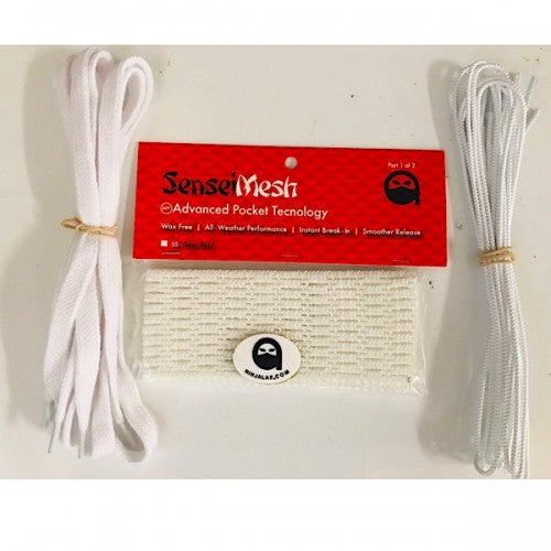 Sensei Mesh 2 Semi Hard (white) and Stringing Kits (20 Pack)