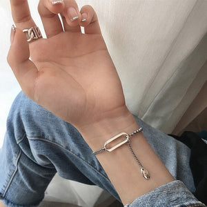 XIYANIKE 925 Sterling Silver Vintage Handmade Bracelet for Women Creative Design Thai Silver Elegant Birthday Party Jewelry Gift