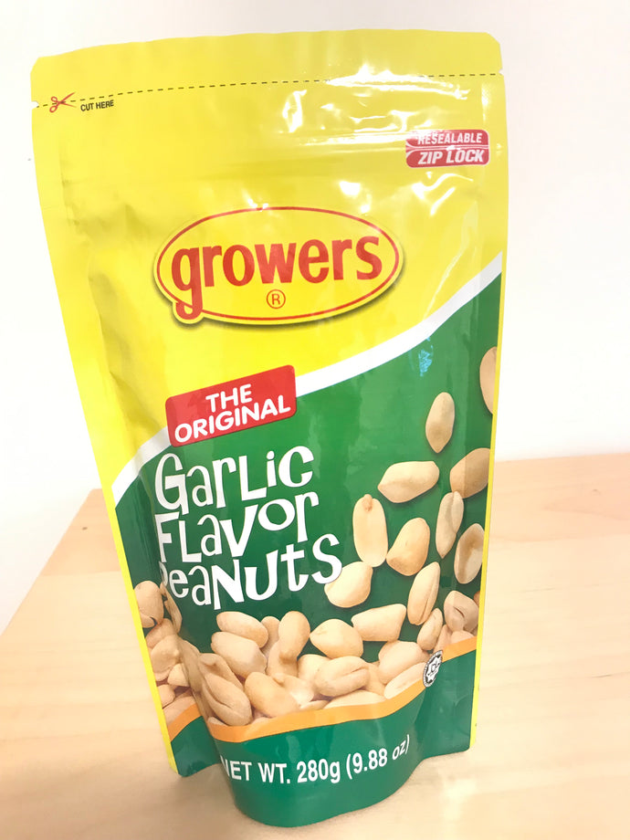 Growers Garlic Flavour Peanuts