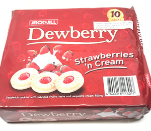 J&J Strawberry Cookies