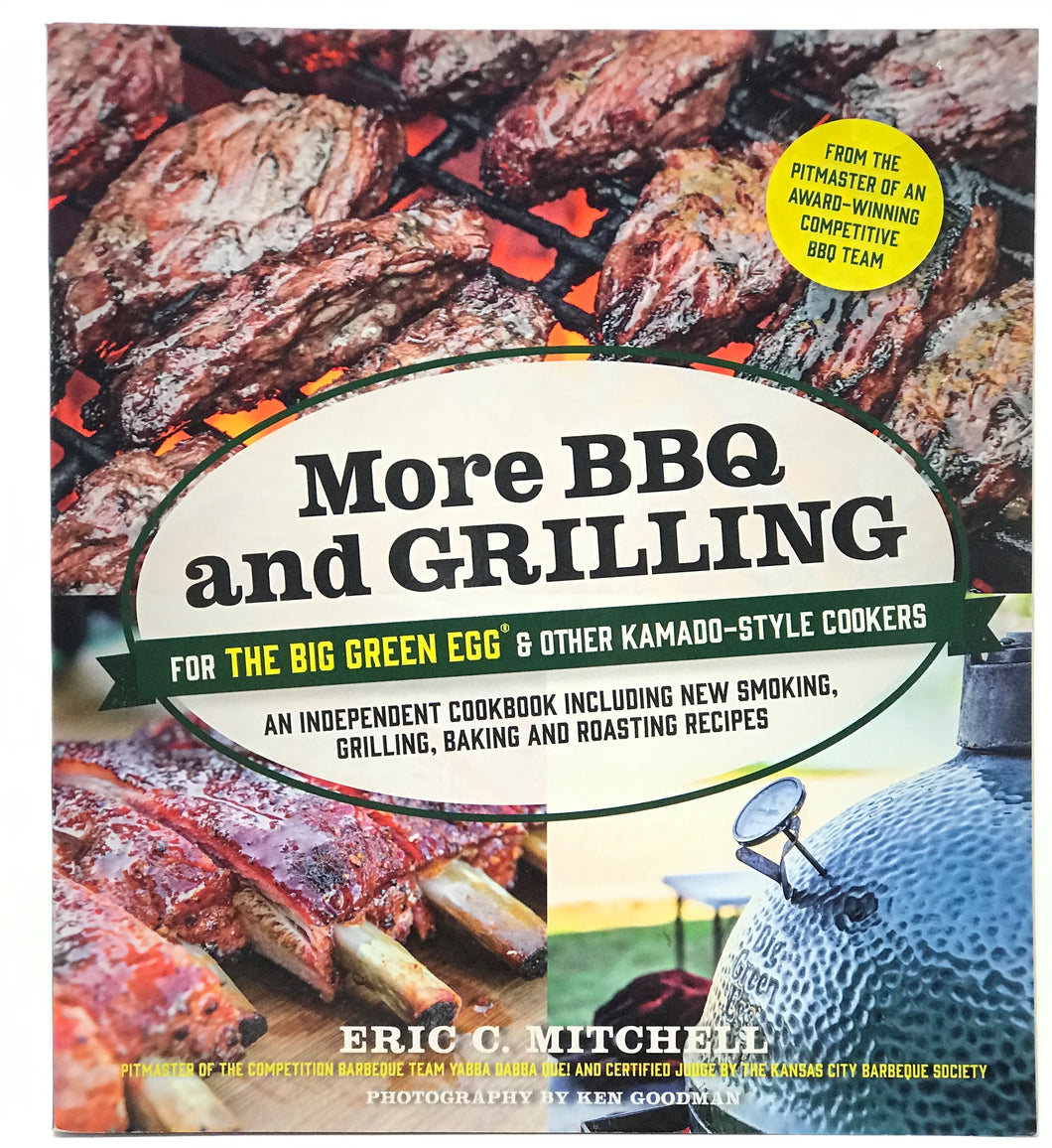 More BBQ and Grilling Book