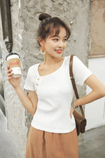 White Slim T-shirt