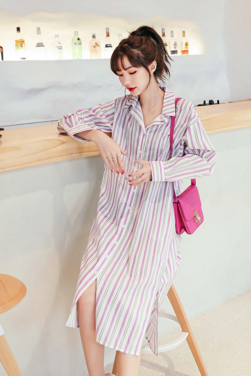 Mid-length Shirt Dress 🔥🔥🔥
