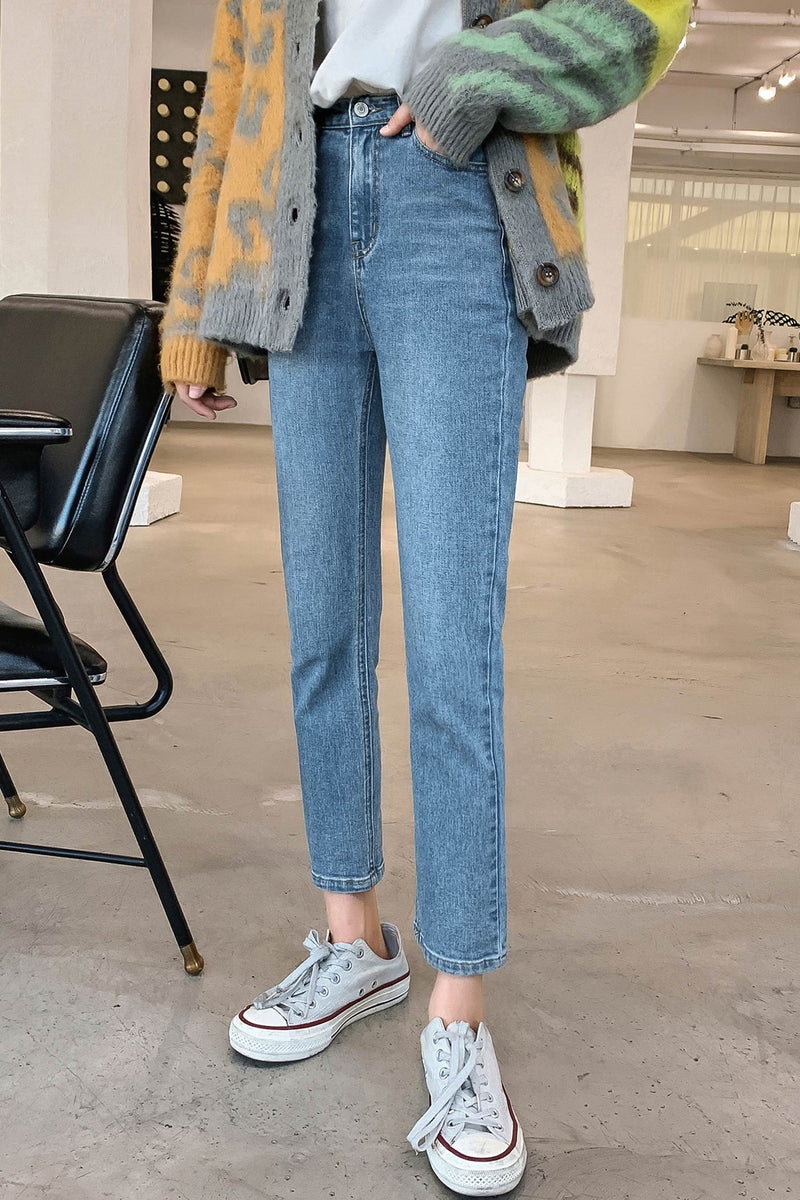 Straight Jean Long Pant - 7GEGE