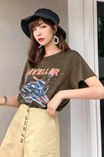 Short Graphic Tee - 7GEGE