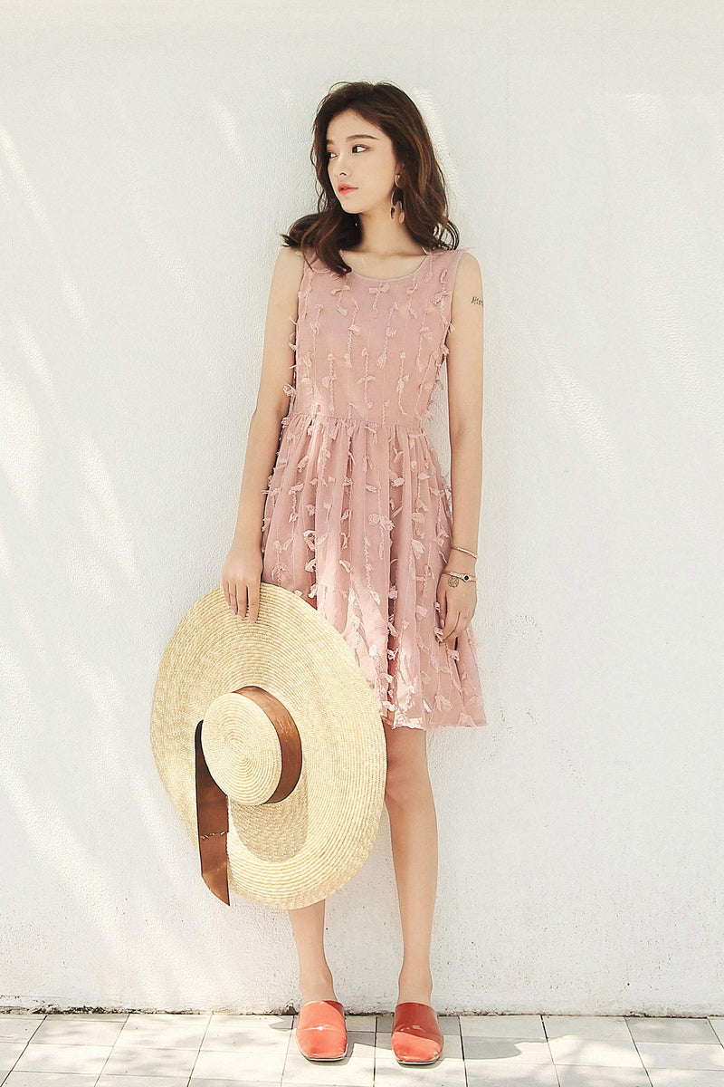 Chiffon Waist Dress