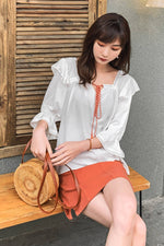 Off The Shoulder Tops Shirt - 7GEGE