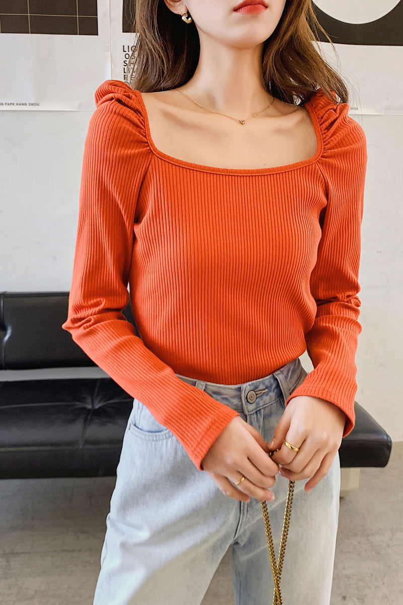 Basic Long Sleeve T-shirt - 7GEGE