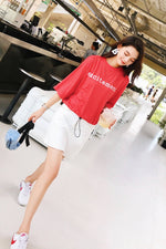 Red Leisure Young T-shirt