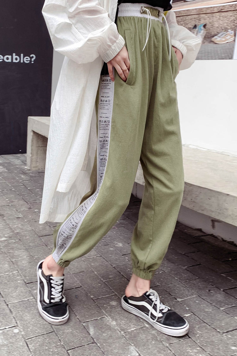 Gathered feet Sweatpant - 7GEGE