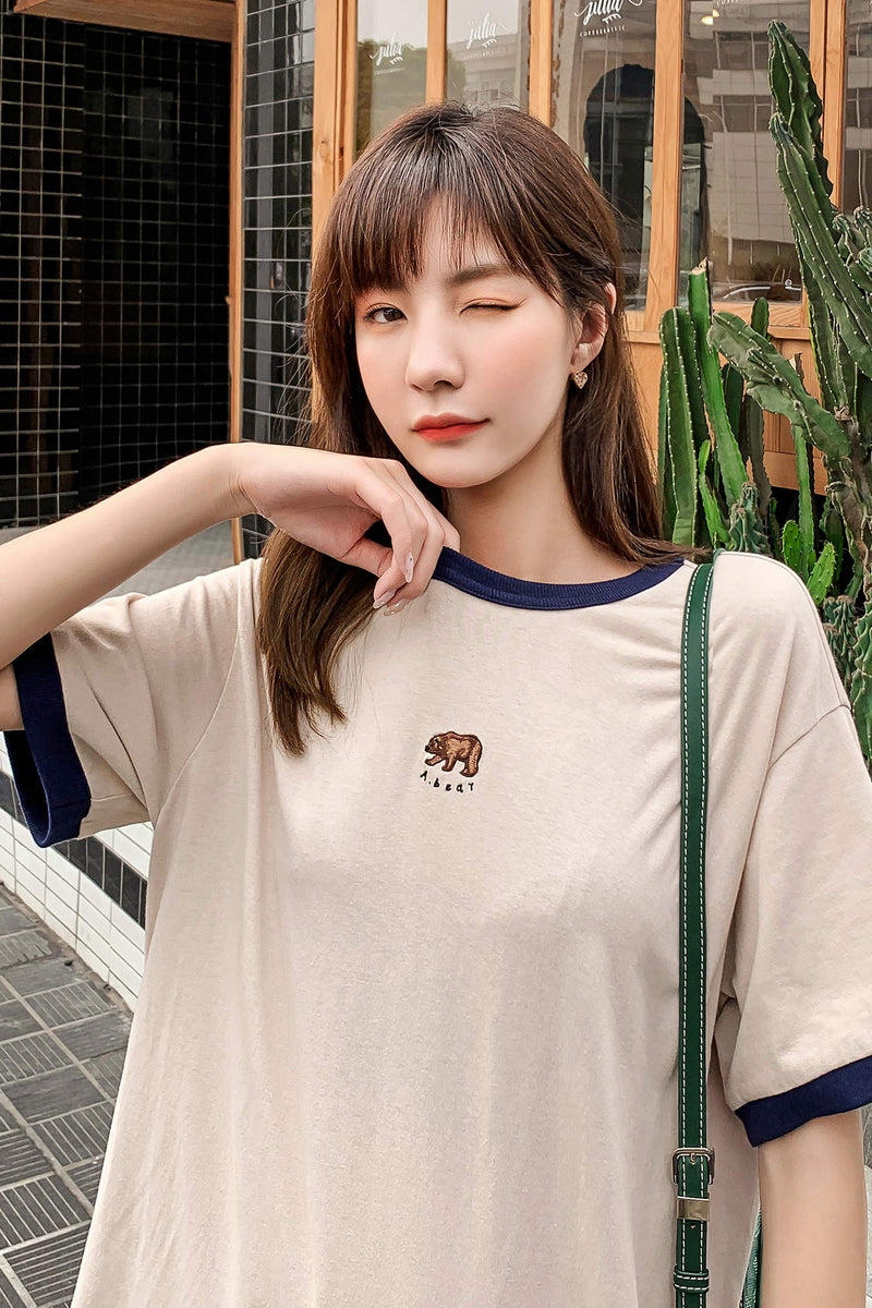 ANIMAL Graphic Tee With Front Breast - 7GEGE