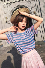 Striped Sparkling T-shirt