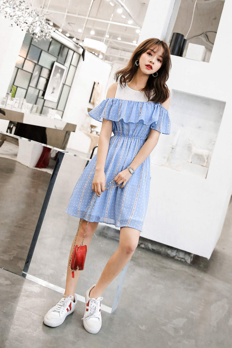 Summer Chiffon Slim Dress