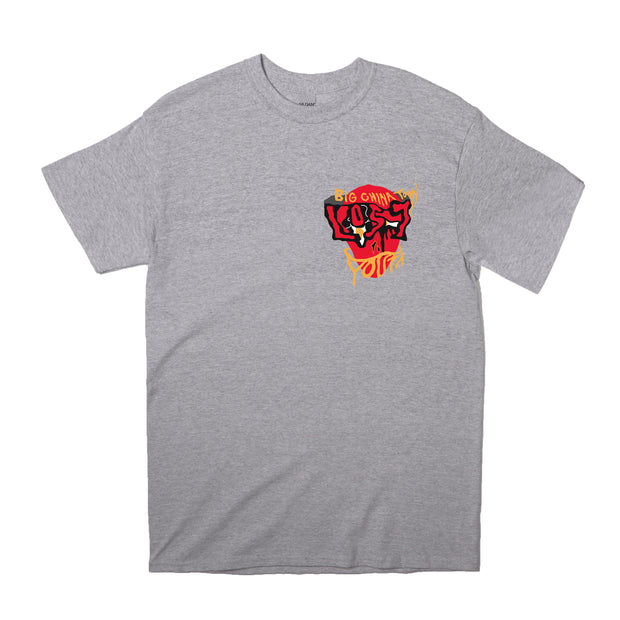Lost Youth Facade T-Shirt (Grey)