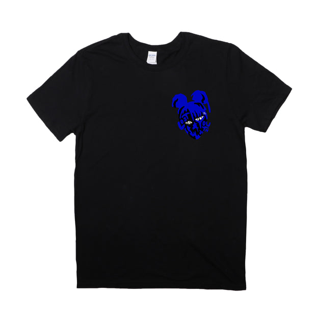 Blue Nebula T-Shirt (Black)