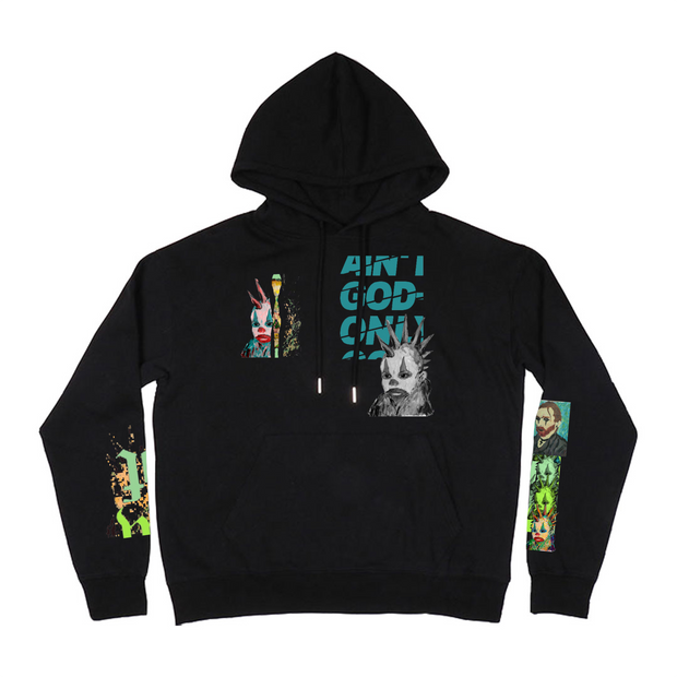Ain't God Only Hoodie (Black)