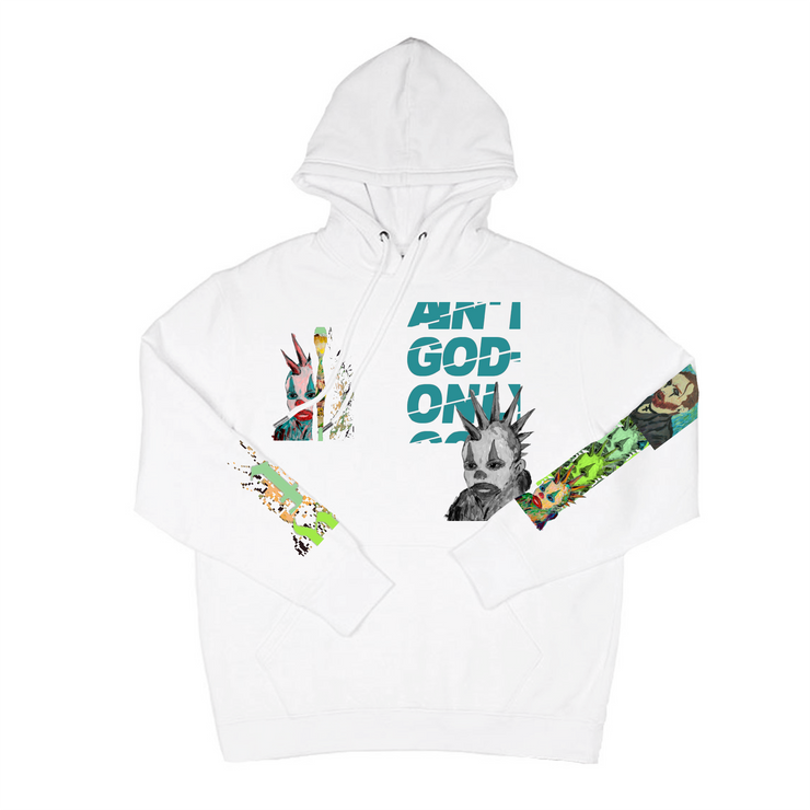 Ain't God Only Hoodie (White)