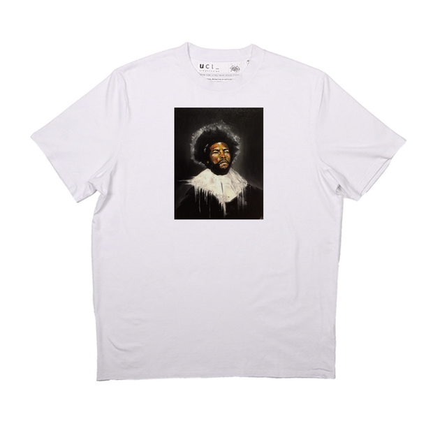 Black Thought T Shirt (White)