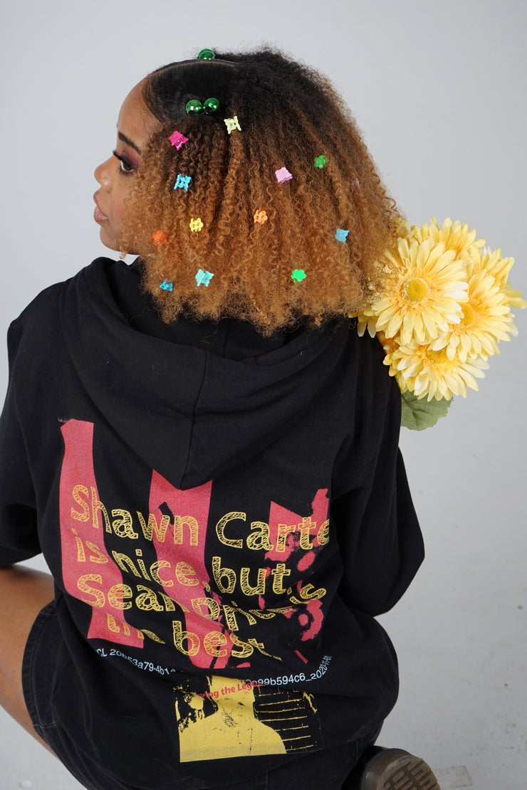 Sean Price is the Best Champion Hoodie (Black)