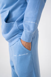 Land with Grace Hoodie (Light Blue)