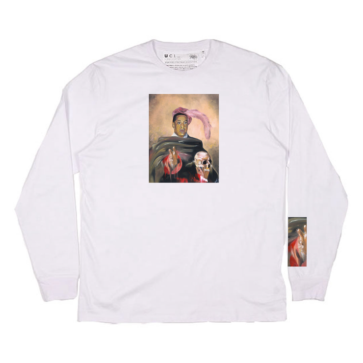 Brooklyn's Finest Long Sleeve T- Shirt (White)