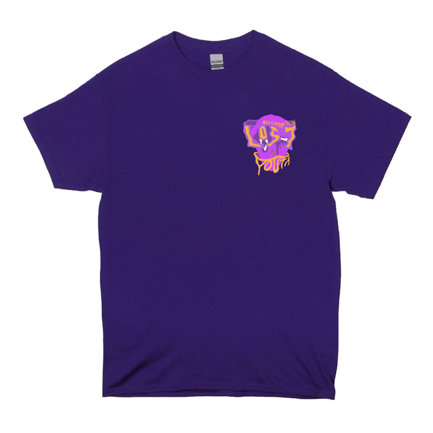 Lost Youth Facade T-Shirt (Purple)