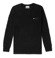 00:00 Long Sleeve T-Shirt (Black)