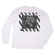 Run Renegade Long Sleeve T-Shirt (White)