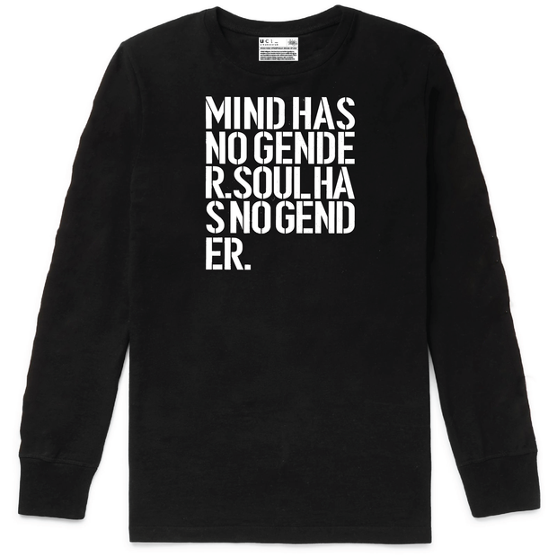 Mind & Soul Long Sleeve T-Shirt (Black)