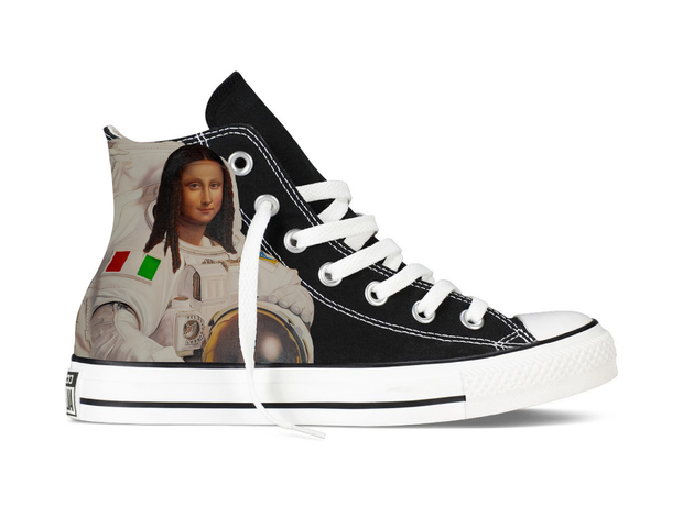 Moona Lisa Chucks (Black)