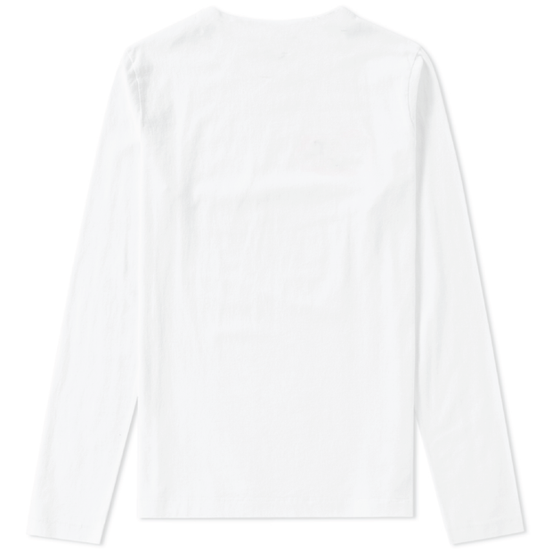 Neutralism Long Sleeve T-Shirt (White)