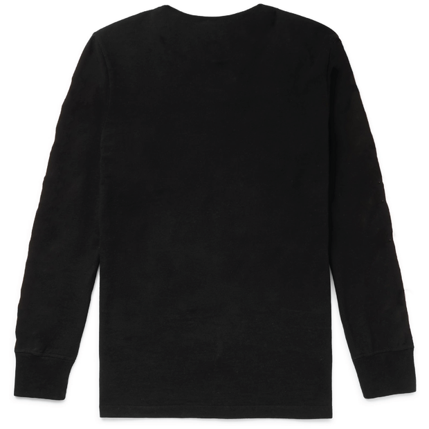 Just a Person Long Sleeve T-Shirt (Black)