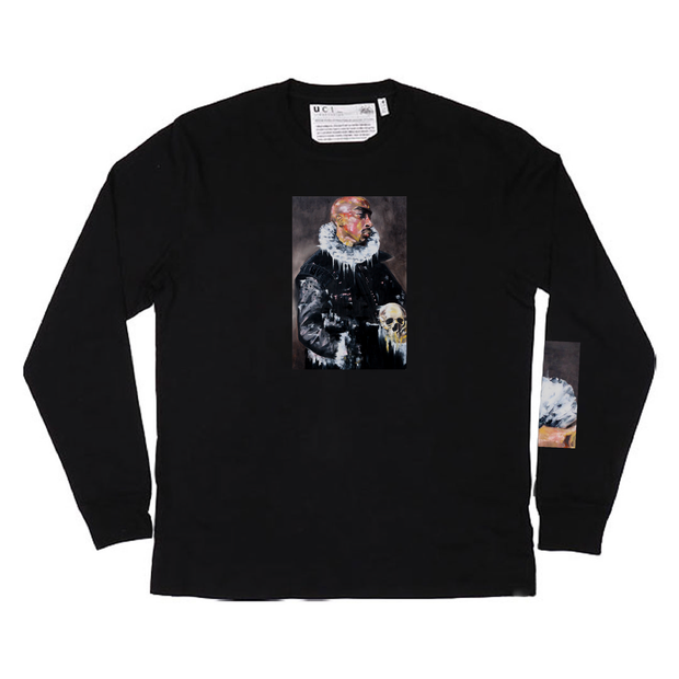 Ghetto Gospel Long Sleeve T-Shirt (Black)