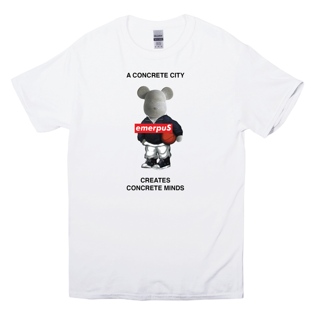Concrete Courts T-Shirt (White)