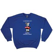 Concrete Courts Crewneck (Royal Blue)