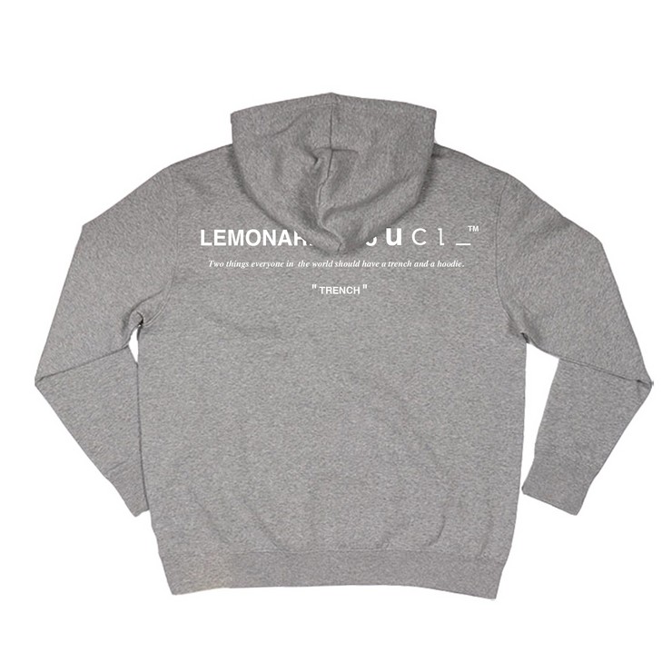 Trench Hoodie (Grey)